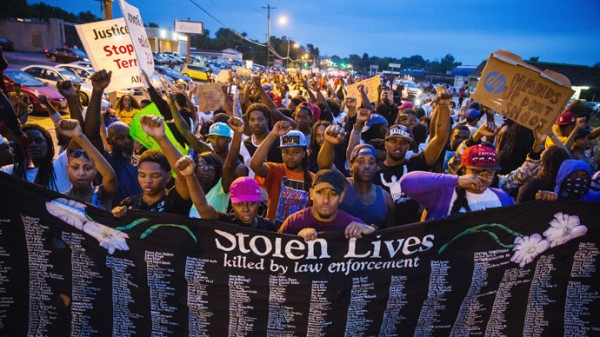 Ferguson protests ruling (photo courtesy of rt.com)