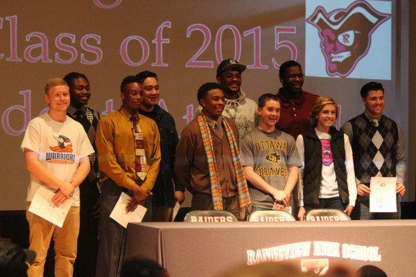 Rangeview congratulates 11 student athletes on National Signing Day