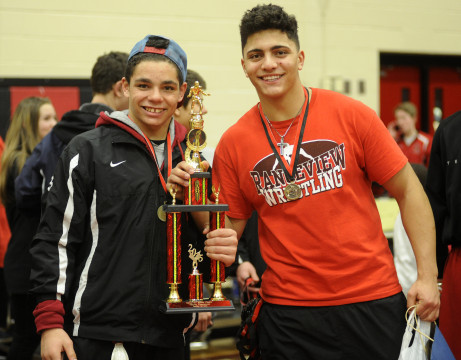 After 7 Years, Rangeview Places Wrestler In State