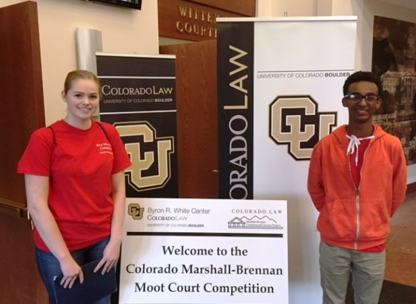 Students Alexis Wall and Mikias Negussie to compete in the Moot Court competition