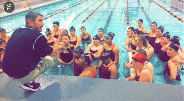 Girls swimming ends on a high note