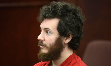James Holmes sits down in court, Holmes was the person behind the theater shooting back in 2012. (Cbsnews.com)