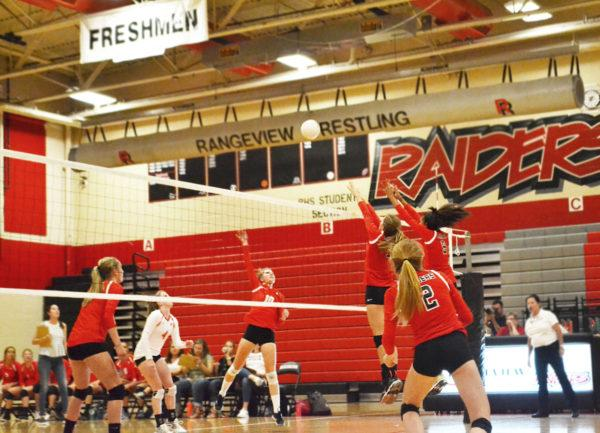 Volleyball is digging up success