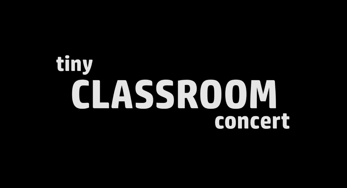 Tiny Classroom Concert : Ahlyna and Laurian
