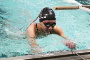Girls Swimming Hits the Finish Line