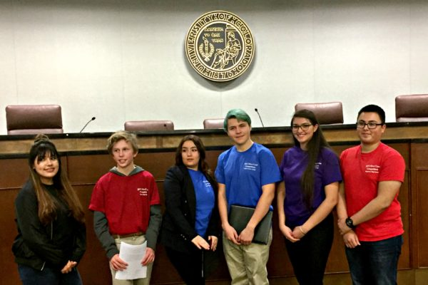 Moot court at Rangeview