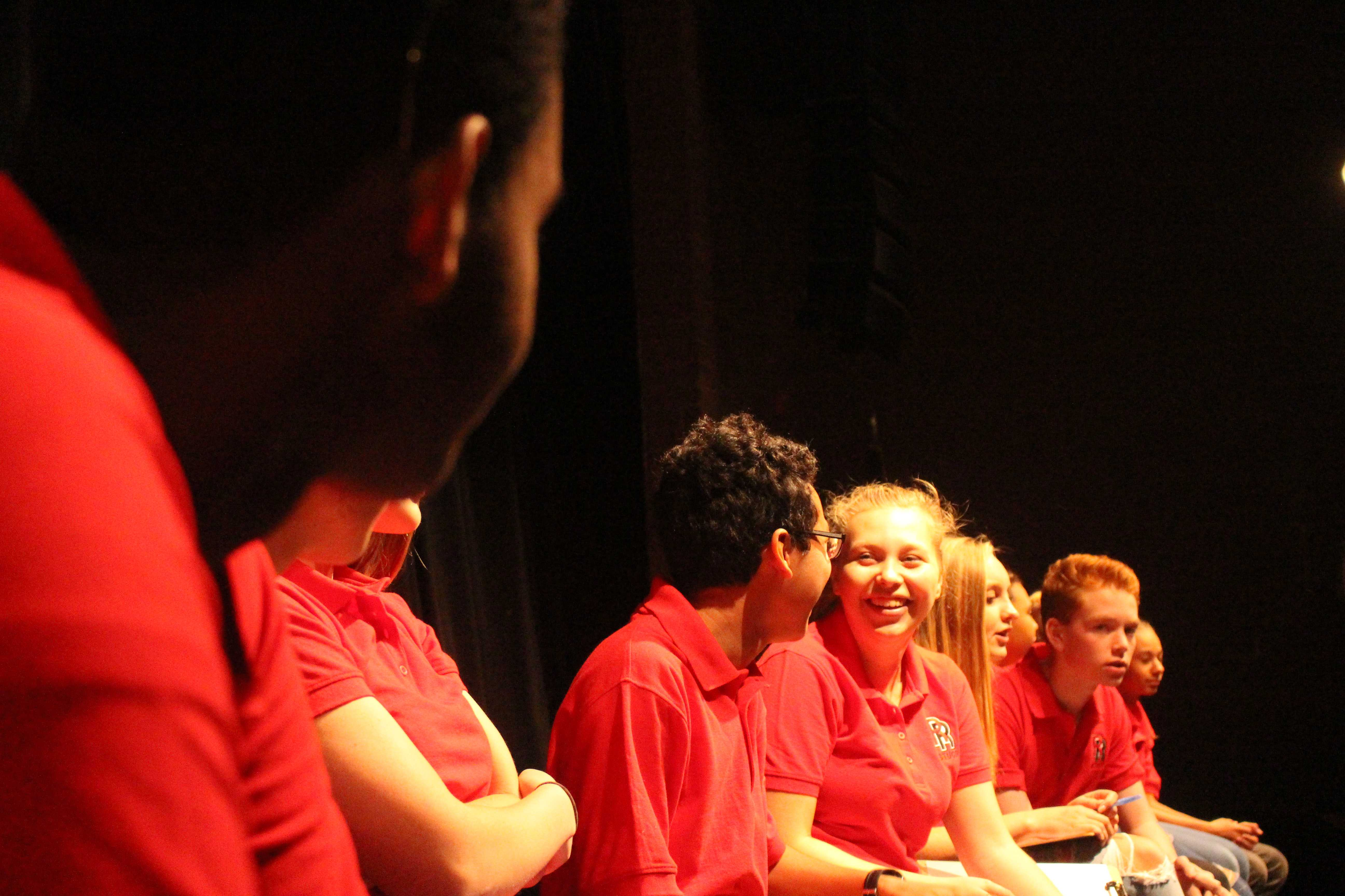 Addressing student voice in STUCO's first forum