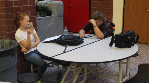 Photo of the Day: Students rest as 1st quarter ends