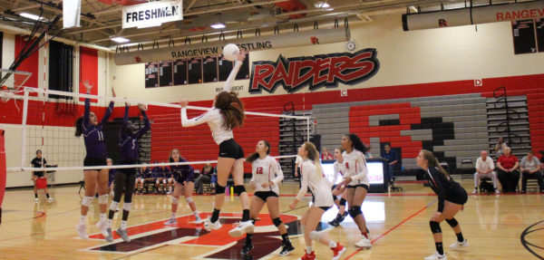 Volleyball spikes out strong