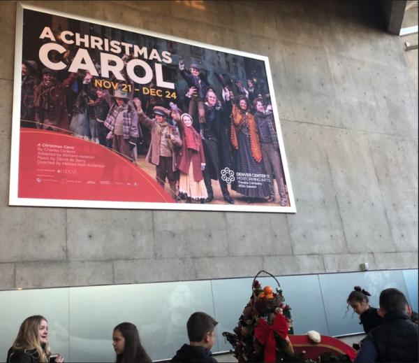 Experiencing a Christmas carol