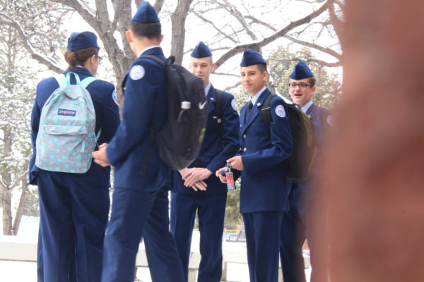 Photo of the Day: Hour delay impacts ROTC students