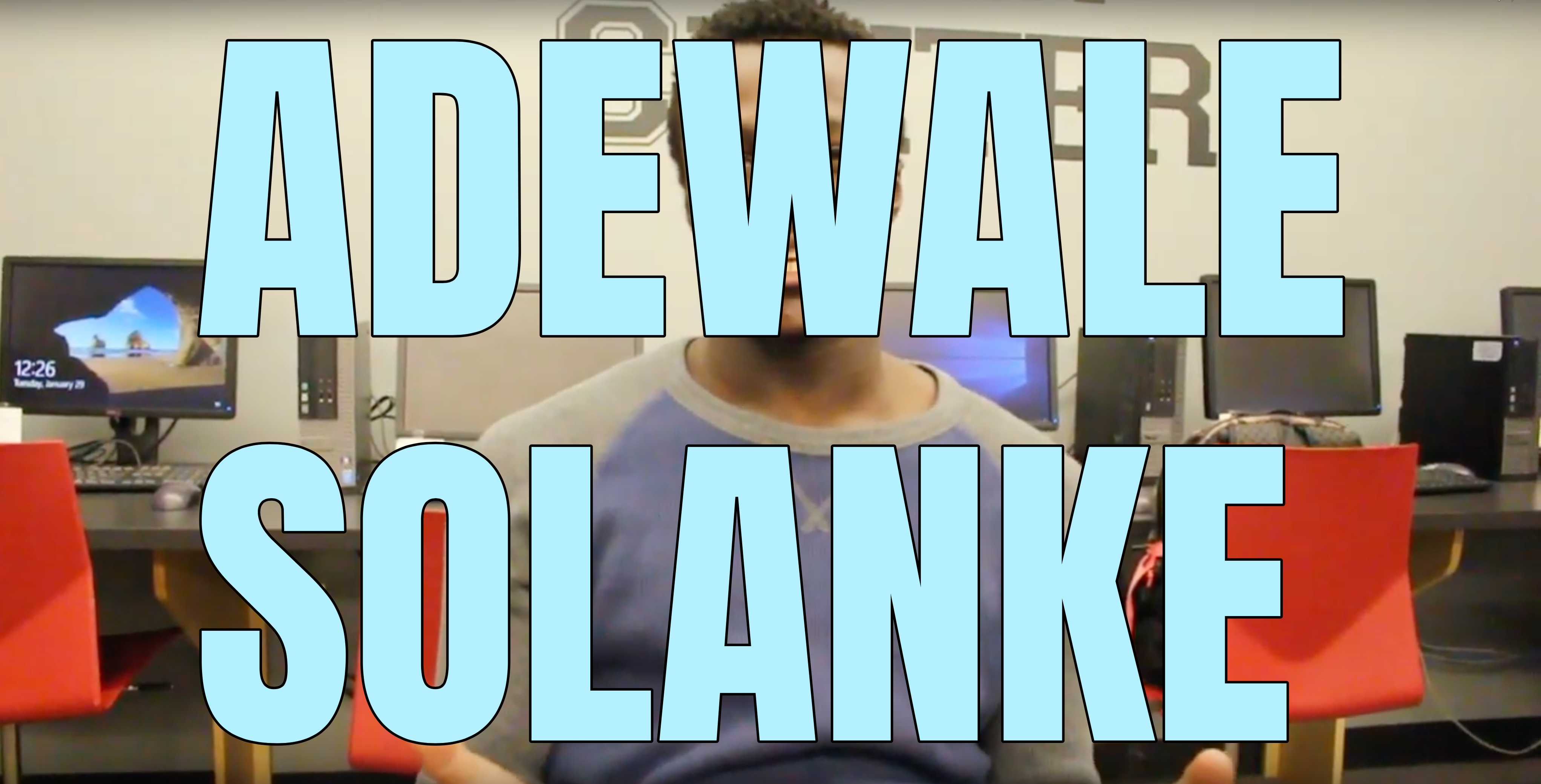 Video: The soccer player Adewale Solanke