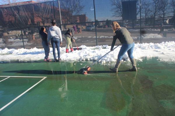 Girls tennis swings into the spring season