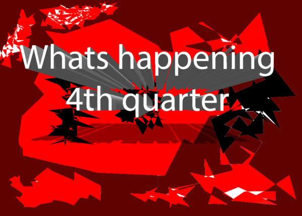 Video: What's happening 4th quarter