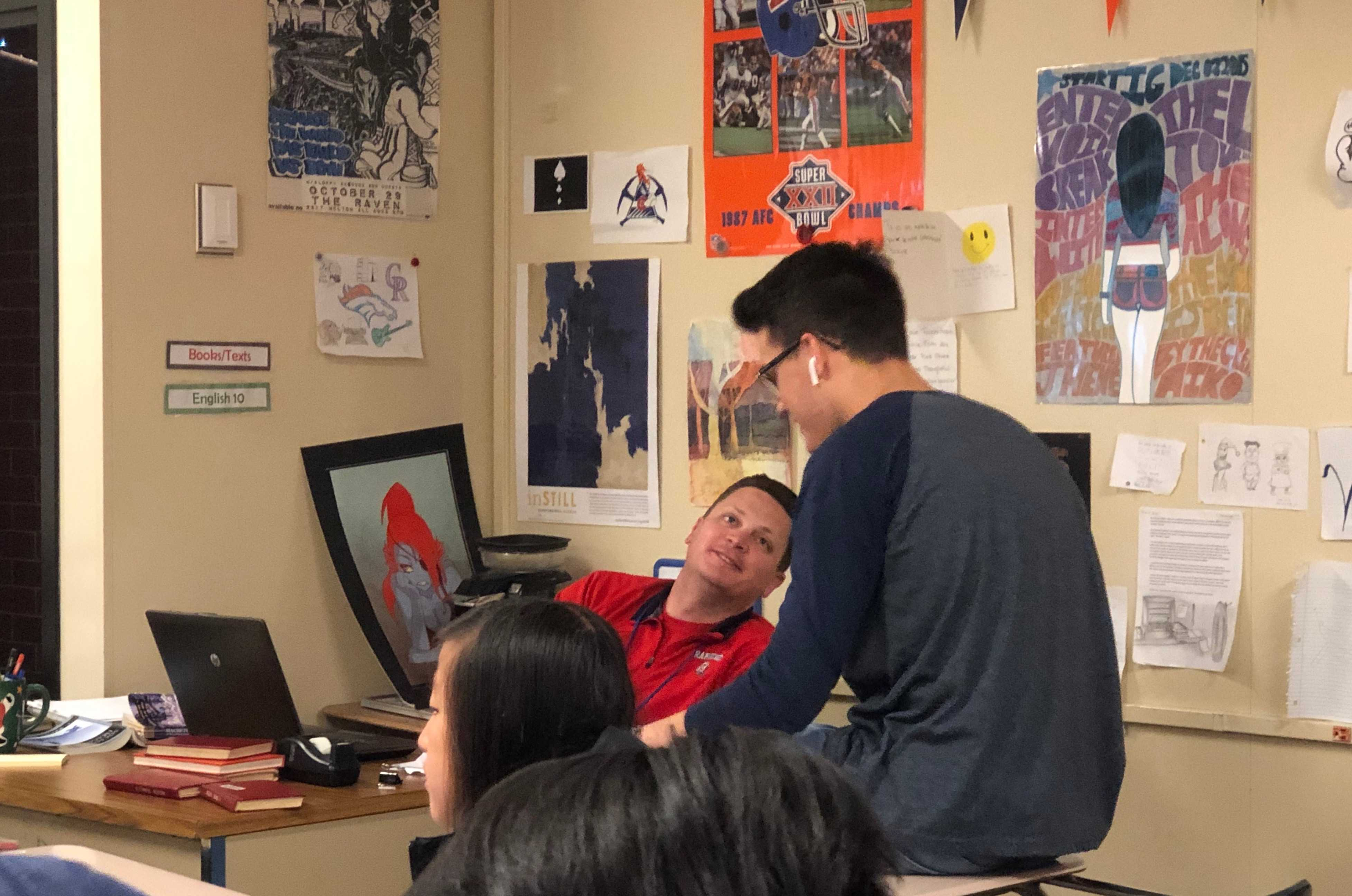 Male Teacher of the Year: Mr. Wells