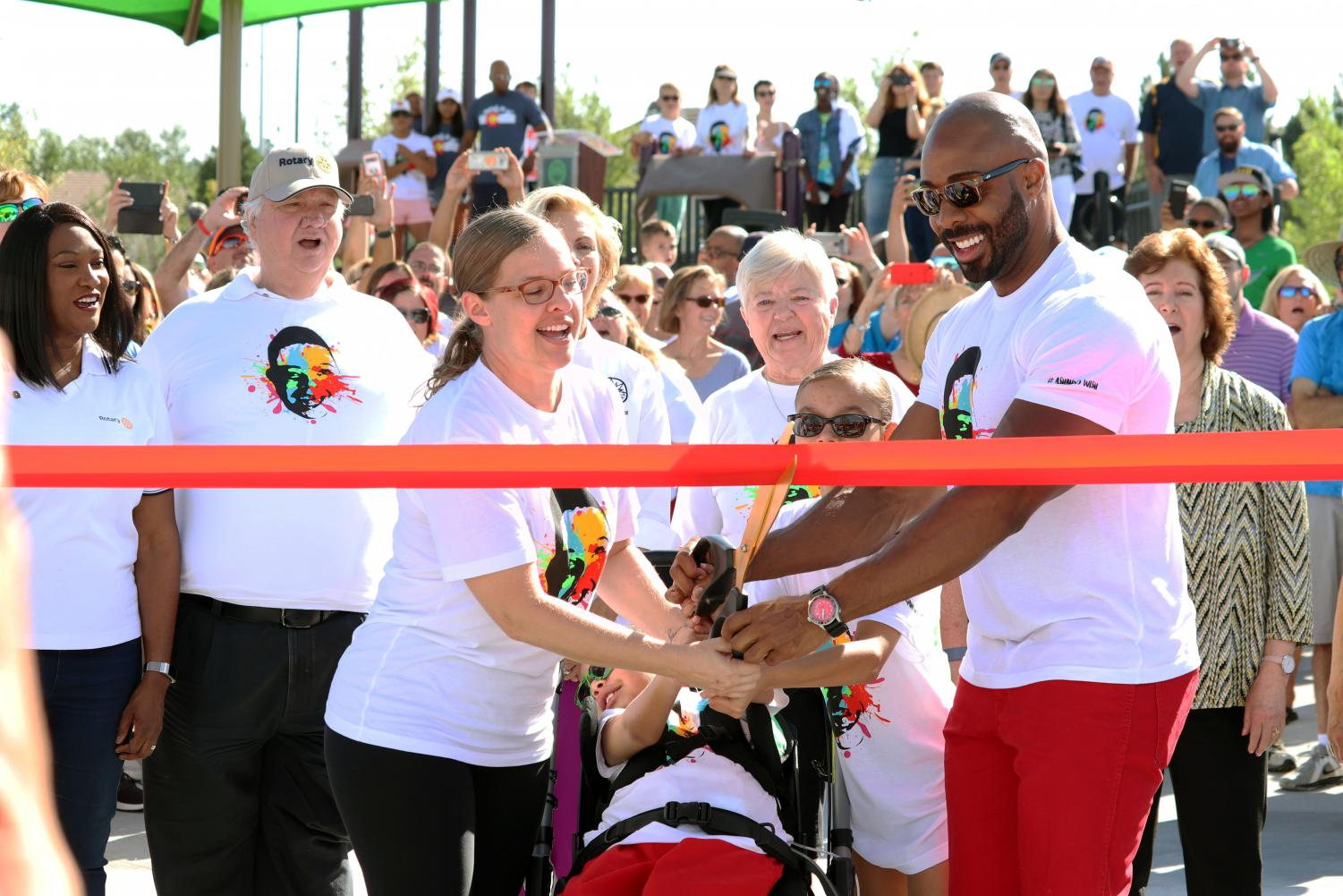 The City of Aurora hosted the grand opening of the Red Tailed Hawk Park on Saturday August 24th.