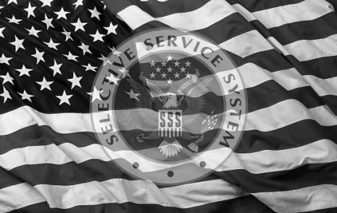 The United States Selective Service System is the name given to the United States Draft. The Draft is a system of conscription where boys can be drafted into military service in times of major conflict. (Image edited in Photoshop by Dylan Tressider. Original photos used: American Flag , SSS Seal)