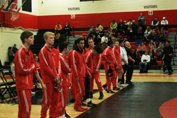 The Rangeview wrestling team is partway through the season, an are looking at how to improve. (Amor-Leigh Wilson)