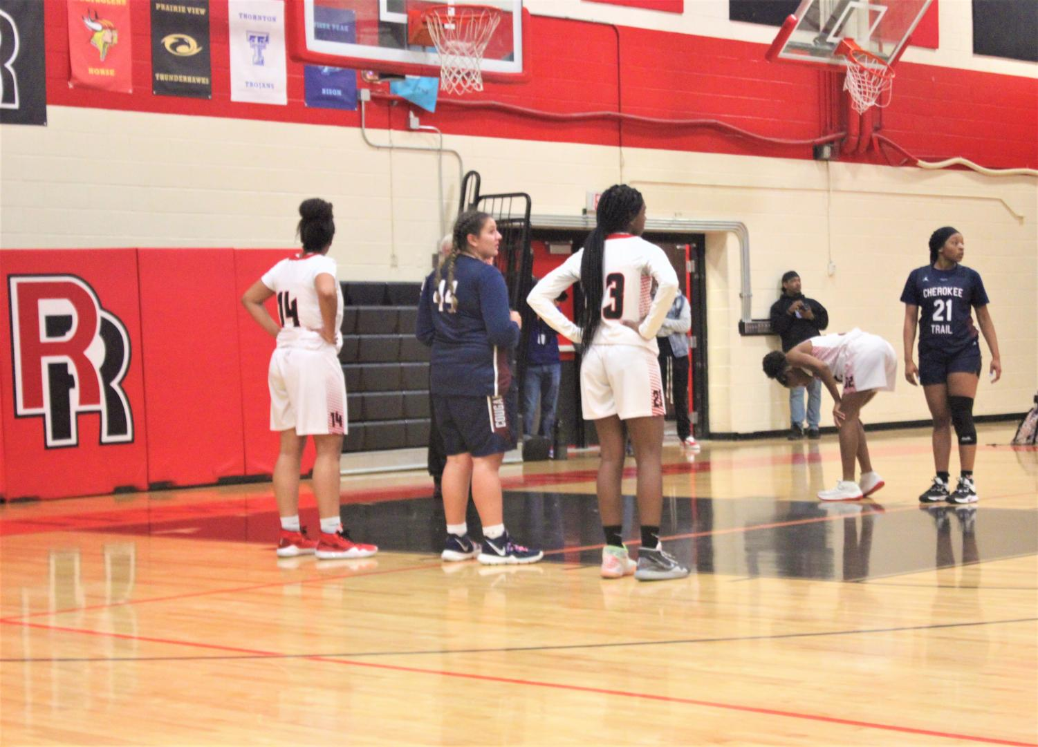 Sophomore Ny'Era West is one of Rangeview's top girls basketball players, and serves as a leader of the team.