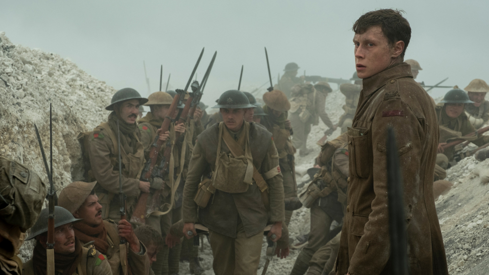 Soldiers get ready for battle. Schofield is seen looking for Colonel Mackenzie to give him the letter from his captain.