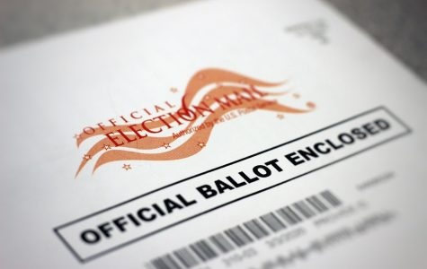 Feature Photo by: Eric Huynh - My ballot recently came in the mail, waiting to be used for voting. To all eligible voters in Colorado, they were mailed in the beginning of February.