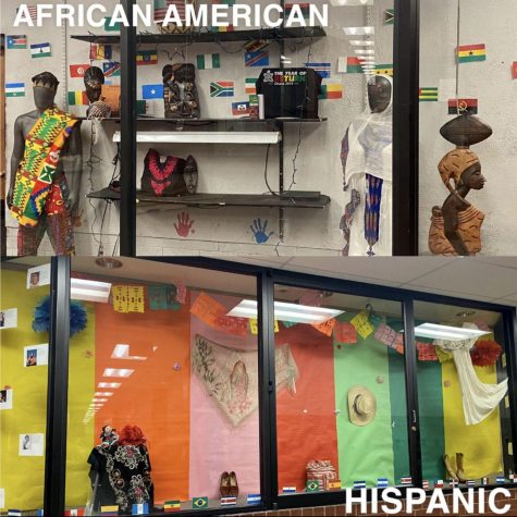 Feature Photo by:  Ulises Perez - The African American and Hispanic culture are displayed in Rangeview. Rangeview is a school with a very diverse number of students of different cultures. Through March 2nd to March 6th, Rangeview had Diversity week celebrating the cultures of Rangeview students and raising awareness for inclusivity and the unified program in the school. Diversity week celebrates the variety of ethnicities and cultures that attend the halls of Rangeview High School.