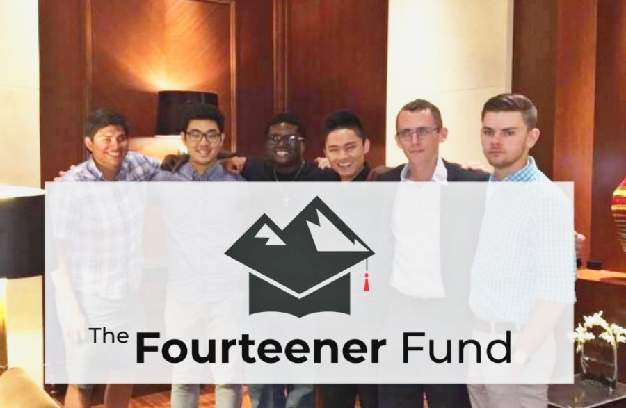 The+Fourteener+Fund+Founders+pose+for+a+group+photo.+Pictured+from+left+to+right%3A+Andy+Stockinger%2C+Do+Park%2C+Nathaniel+Bradley+III%2C+Bruce+Ahn%2C+Nick+Koeppen%2C+and+Sean+Downs.+This+friend+group+has+started+a+non-profit+organization+to+help+Rangeview+seniors+called+The+Fourteener+Fund.