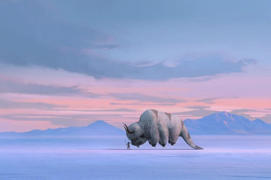 Official art released by Netflix for the new Avatar: The Last Airbender live action series. (Netflix)
