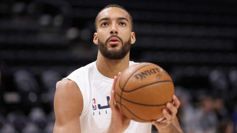 Jazz center Rudy Gobert was one of the first dominos to fall in the NBA as he tested positive, leading to the league going on hiatus.