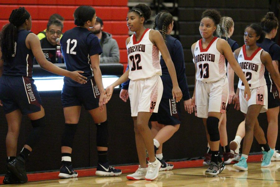 The Rangeview girls basketball team is one of the teams ready to compete during season B. (via CHSAA)