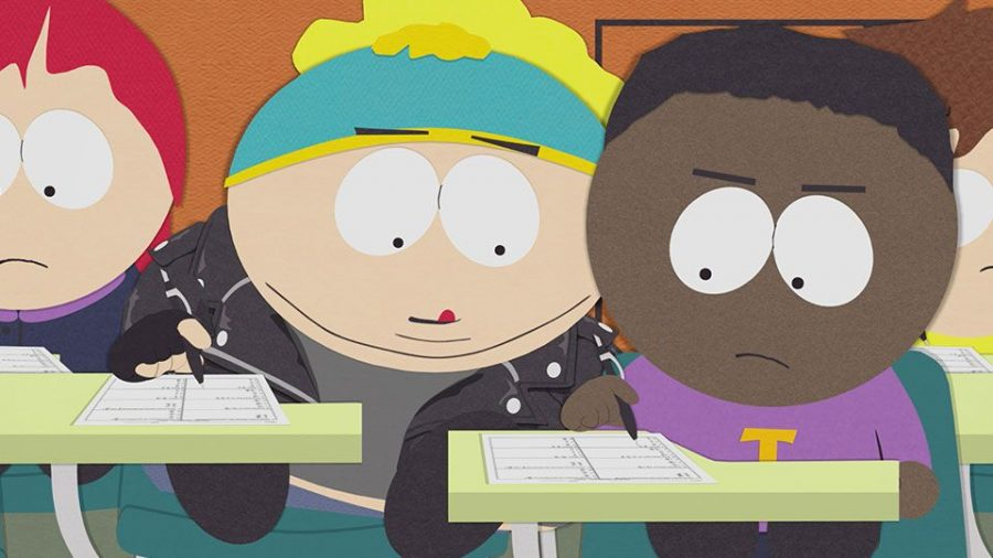"South Park's aptly-named character, ""Token Black"". (South Park Online)"